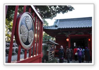 仙波東照宮の初詣
