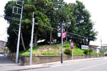 日枝神社古墳斜め