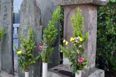 旧跡: 高山繁文の墓