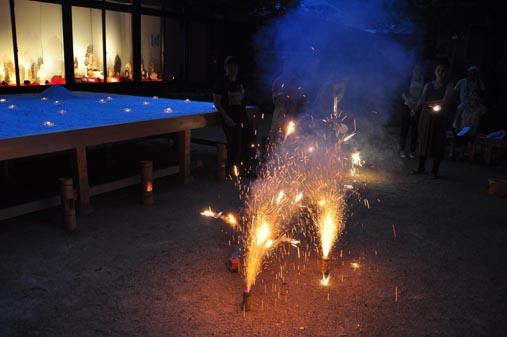 奥庭の花火2