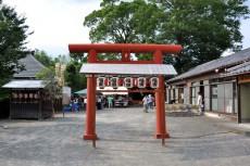 赤城神社の境内