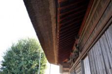 葭(葦)葺の屋根