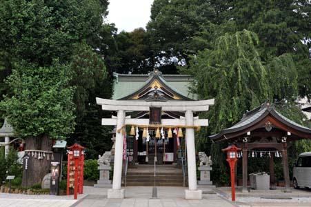 川越八幡宮社殿