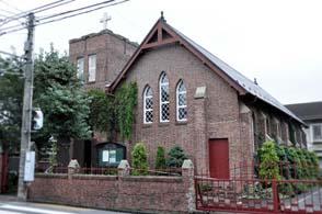 川越キリスト教会外観