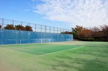 壁打ちテニスコート