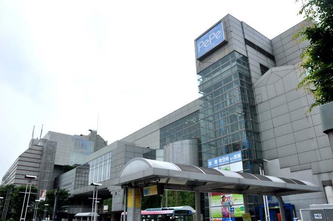 本川越ステーションビルと広場