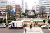 川越駅西口広場