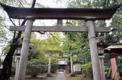 烏頭坂と熊野神社