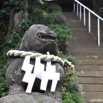 仙波愛宕神社 狛犬