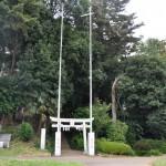 小堤の八幡神社とふるさとの森