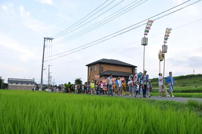福田のしし舞 -赤城神社と星光院