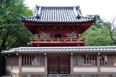 鐘楼門の正面