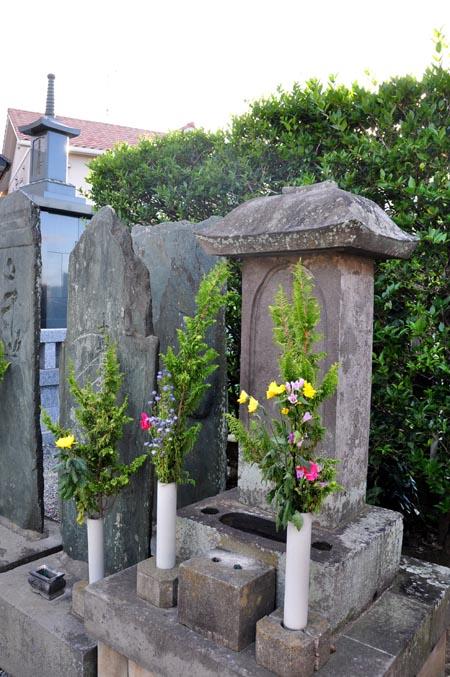 高山繁文墓