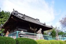 菅原神社の拝殿