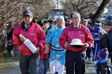 菅原神社へのお供え餅