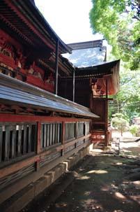 三芳野神社本殿