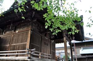 六塚稲荷神社-社殿