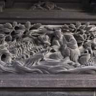 本殿-江戸彫