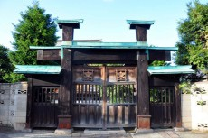 武家門の山門