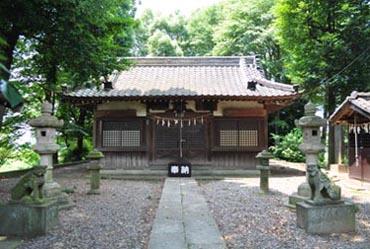 老袋氷川神社_拝殿