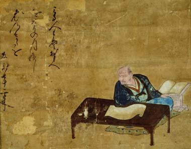 奥貫友山画像(複製品、川越市立博物館蔵)