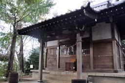 仙波愛宕神社 拝殿