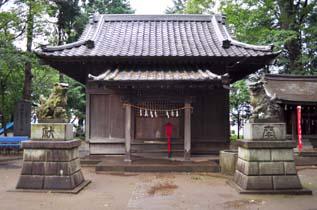 仙波氷川神社 拝殿