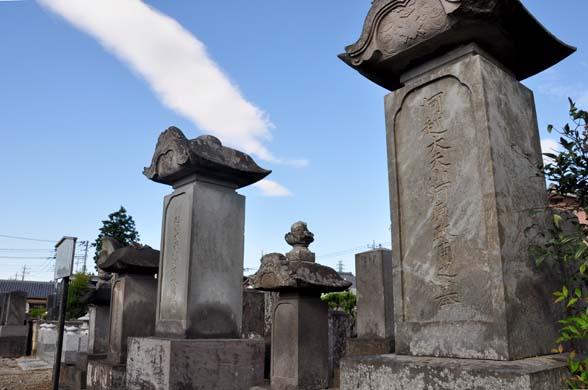 小河原家の墓