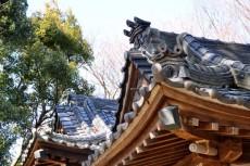 社殿の屋根瓦