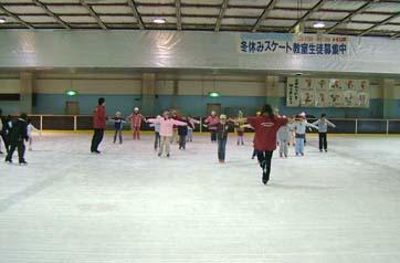 スケート教室風景