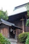 稲荷社と拝殿