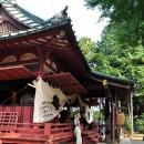古尾谷八幡神社 拝殿