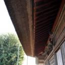 薬師神社の葭葺屋根
