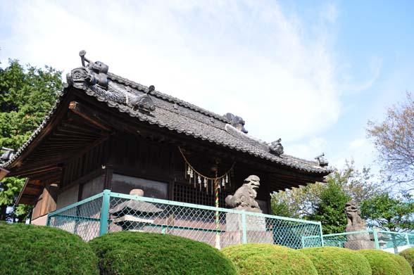 南大塚菅原神社 本殿・拝殿