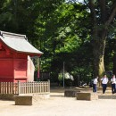 三芳野神社 大黒社と境内