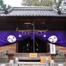 大袋白髭神社 拝殿