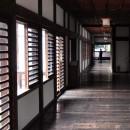 川越城本丸御殿 玄関部分廊下
